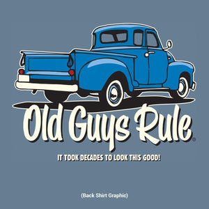 Old Guys Rule - It Took Decades T-Shirt - OG921