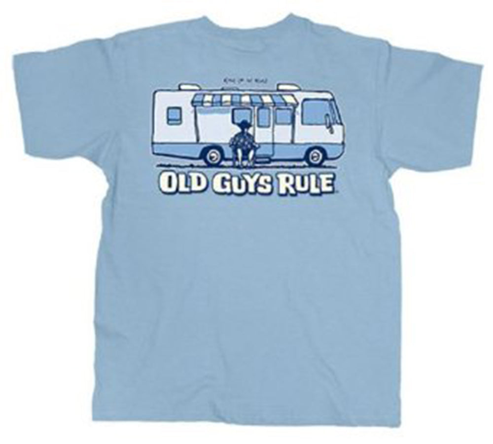 Old Guys Rule - King of the Road TShirt - OG979
