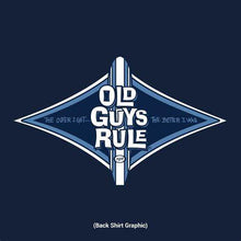 Load image into Gallery viewer, Old Guys Rule - Diamond Longboard T-Shirt -OG245