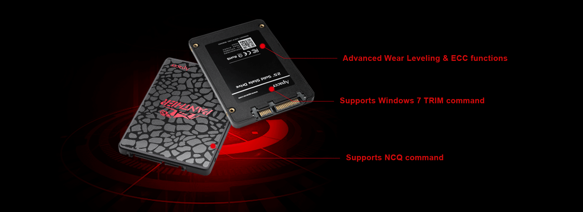 Apacer AS350 Panther maroc Prix SSD pas cher - smartmarket.ma