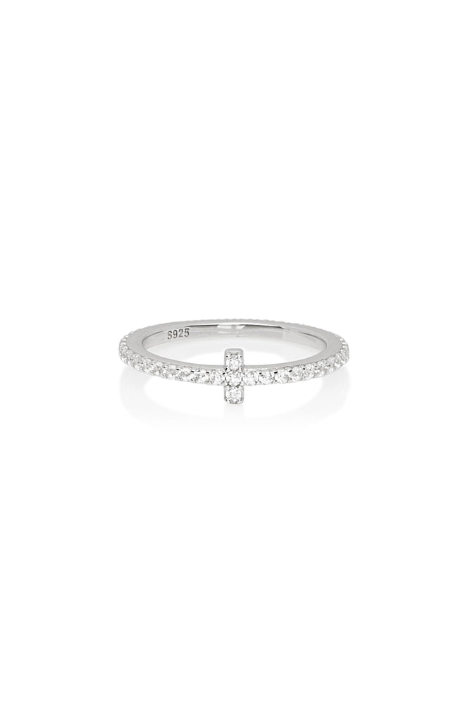 Cross Diamond Band