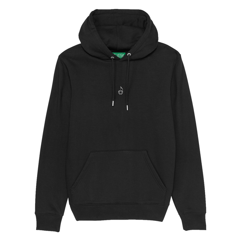 Apple Embroidered Hoodie