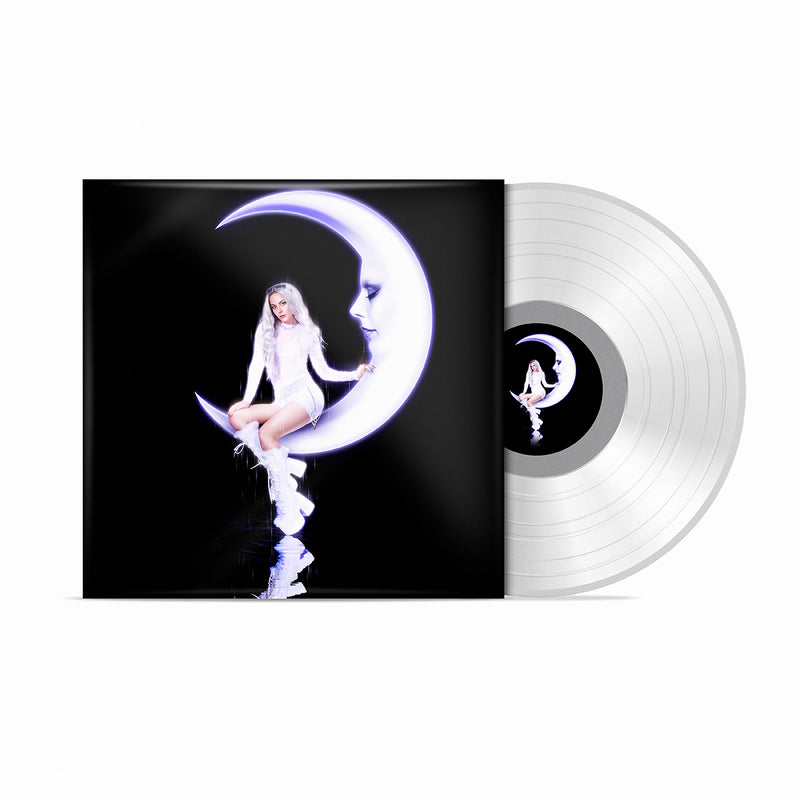 HANNAH DIAMOND 'REFLECTIONS' DELUXE CRYSTAL CLEAR LP (Signed)
