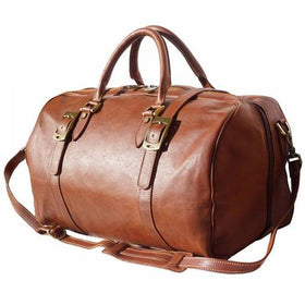 Unisex Leather Travel Bag