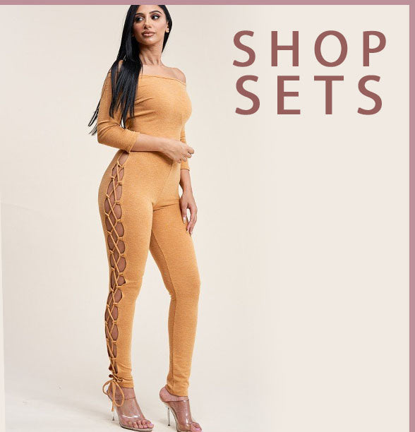 Feel beautiful in women's matching sets from Oasisincentives. Shop featured clothing sets, two-piece outfits for women, and more, plus FREE SHIPPING!