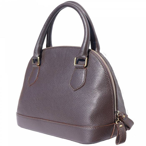 Italian Artisan Handcrafted Womens Bowling Genuine Cow Leather Handbag Made In Italy - Oasisincentives