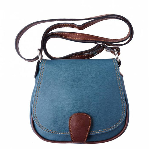 Italian Artisan Bibiana Womens Handmade Leather Crossbody Handbag Made In Italy - Oasisincentives