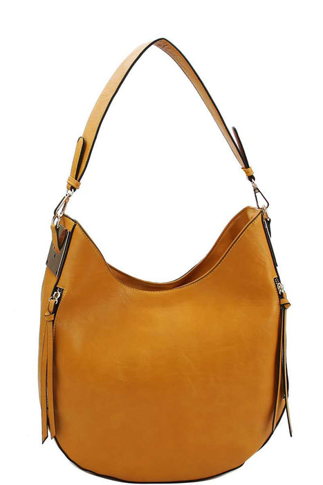 EVAVON Womens Fashion Chic Trendy Hobo Handbag With Long Strap - Oasisincentives