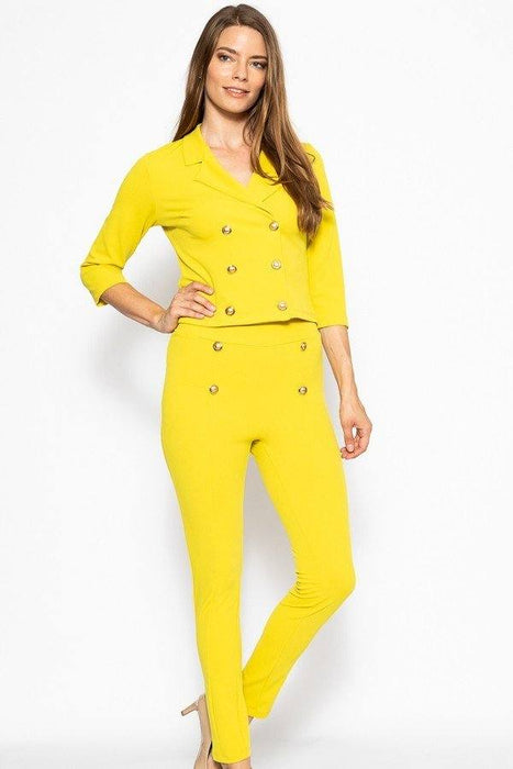 EVAVON Womens Fashion Apparel Classic Pant Suit Set - Oasisincentives