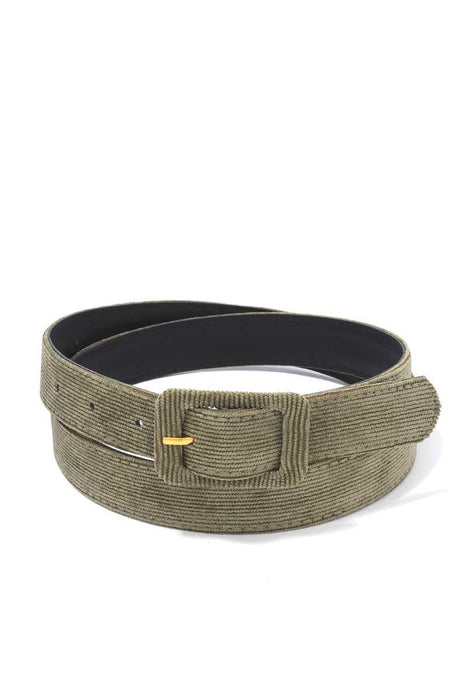 EVAVON Womens Apparel Corduroy Belt - Oasisincentives