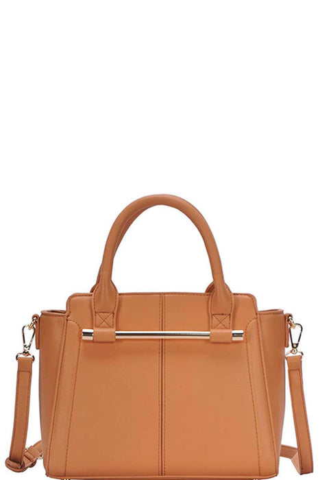 EVAVON Womens Chic Fashion Stylish Satchel Handbag With Long Strap - Oasisincentives