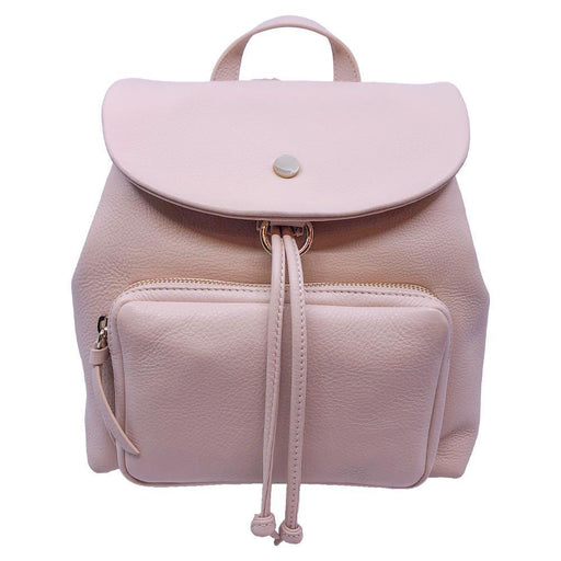 Jimmy Choo Suki Powder Pink Grainy Leather Backpack - Oasisincentives