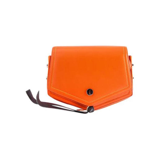 Jimmy Choo Women's Arrow Orange Nappa Crossbody Bag Small - Oasisincentives