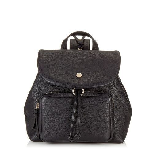 Jimmy Choo Womens Suki Black Grainy Leather Backpack - Oasisincentives