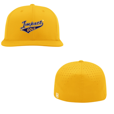 ALL Gold Impact Gold Tail Performance Hat