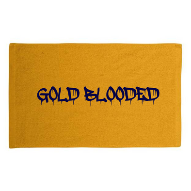 GoldBlooded Rally Towel
