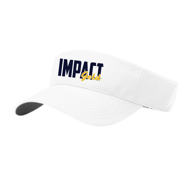 White Adjustable Performance Visor