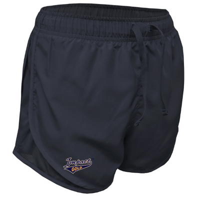 Women's Navy Running Shorts