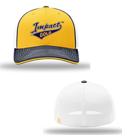 Tri-Color Impact Gold Tail Sport Mesh Hat- PREORDER
