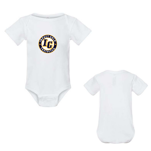 White IG Seal Baby Onesie- PREORDER