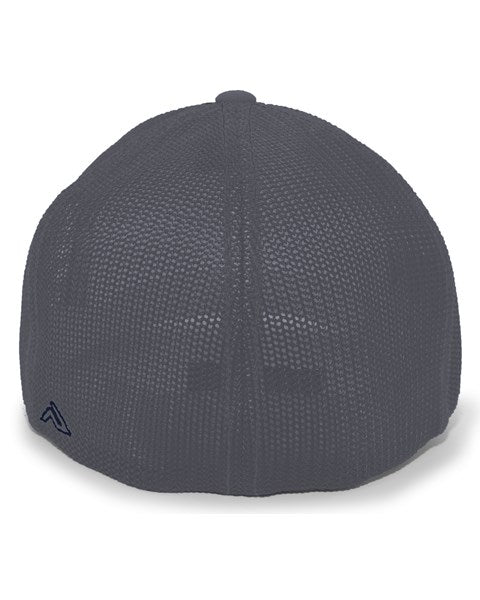 Charcoal/Navy Impact Gold Tail Hat- Mesh