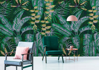 On Trend: Go tropical & bring the outdoors in.