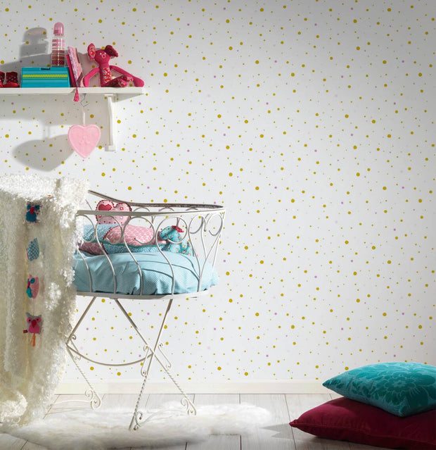 Pretty Polkadots Wallpaper -  Little Stars