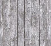 Washed Wood Wallpaper - Little Stars