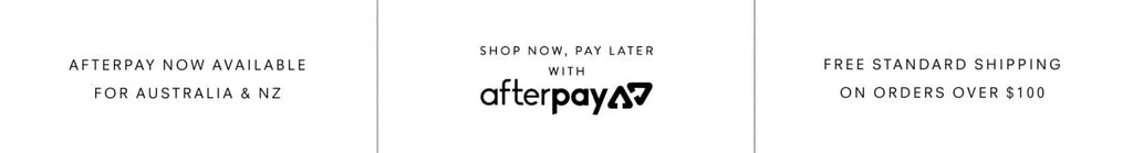 Afterpay Available and Free Shipping in Australia