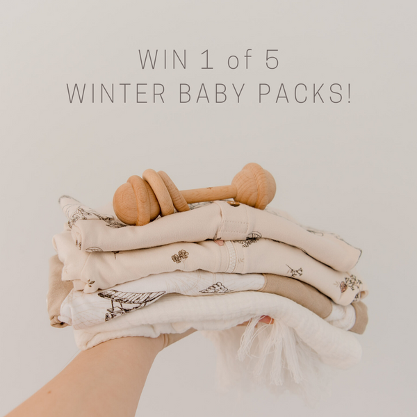Aster & Oak Giveaway Baby Winter Pack