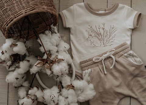 Aster & Oak Organic Cotton Flatlay