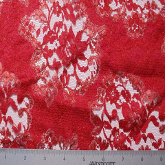 Chantilly Lace #2 85 118051 44 Red - NY Fashion Center Fabrics