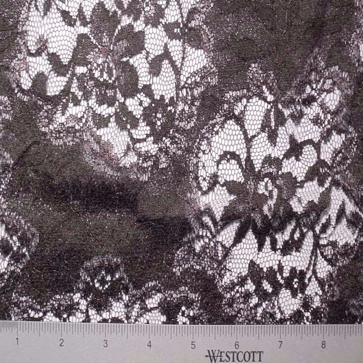 Chantilly Lace #3 86 118051 44 Black - NY Fashion Center Fabrics