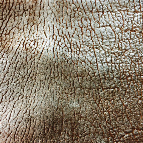 Alpos Metallic Lamb Leather Gold - NY Fashion Center Fabrics