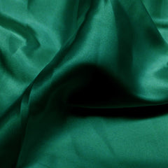 Charmeuse Satin Fabric 20  Emerald