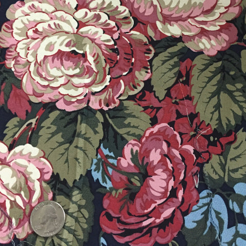 Cotton Floral Stretch Fabric CFS 24 - NY Fashion Center Fabrics