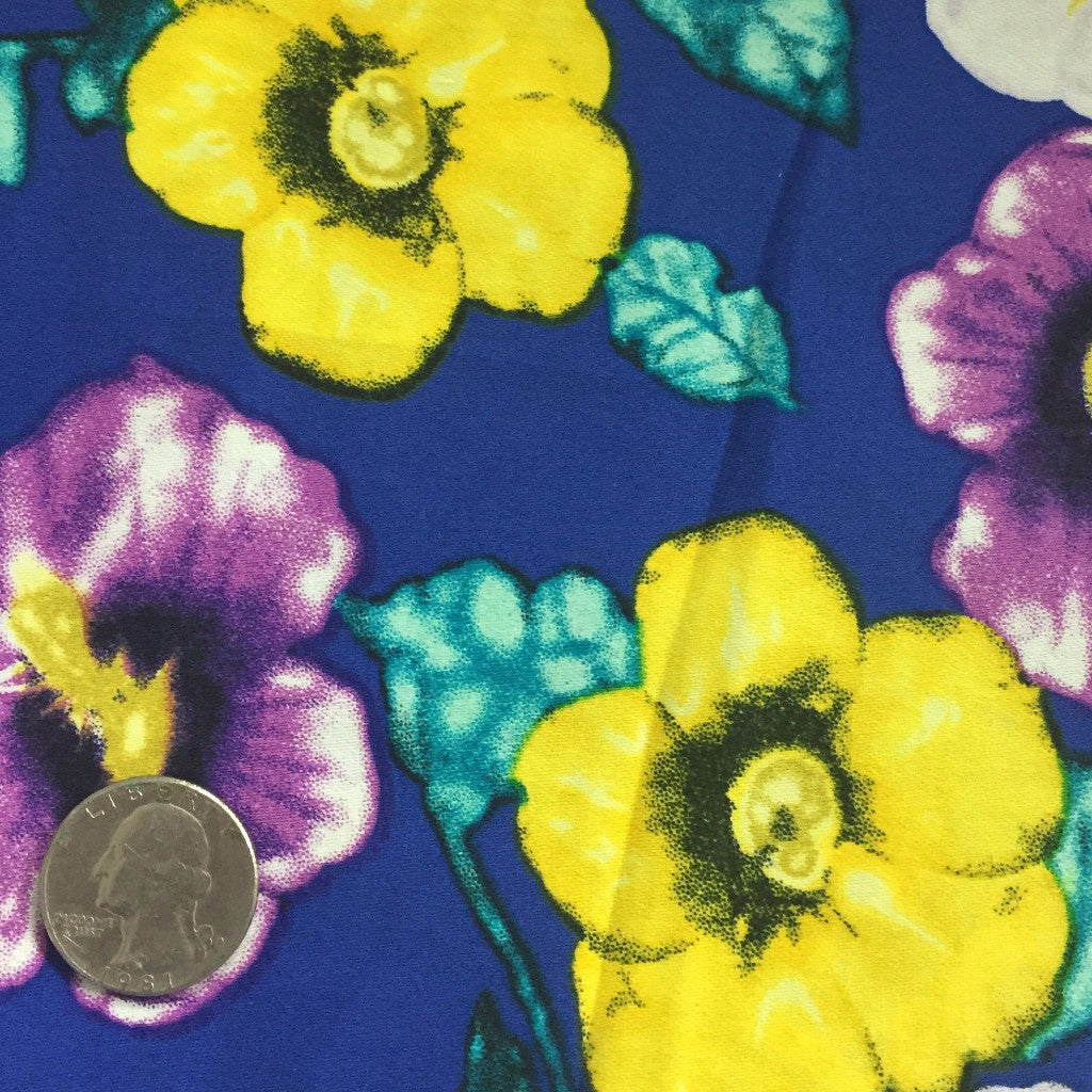 Cotton Floral Stretch Fabric CFS 8 - NY Fashion Center Fabrics