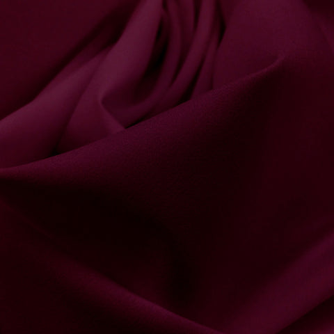 Pongee Lining Fabric 30  Wine