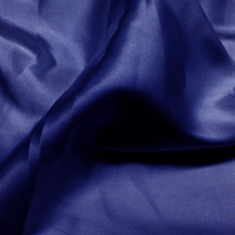 Charmeuse Satin Fabric 35  Royal - NY Fashion Center Fabrics