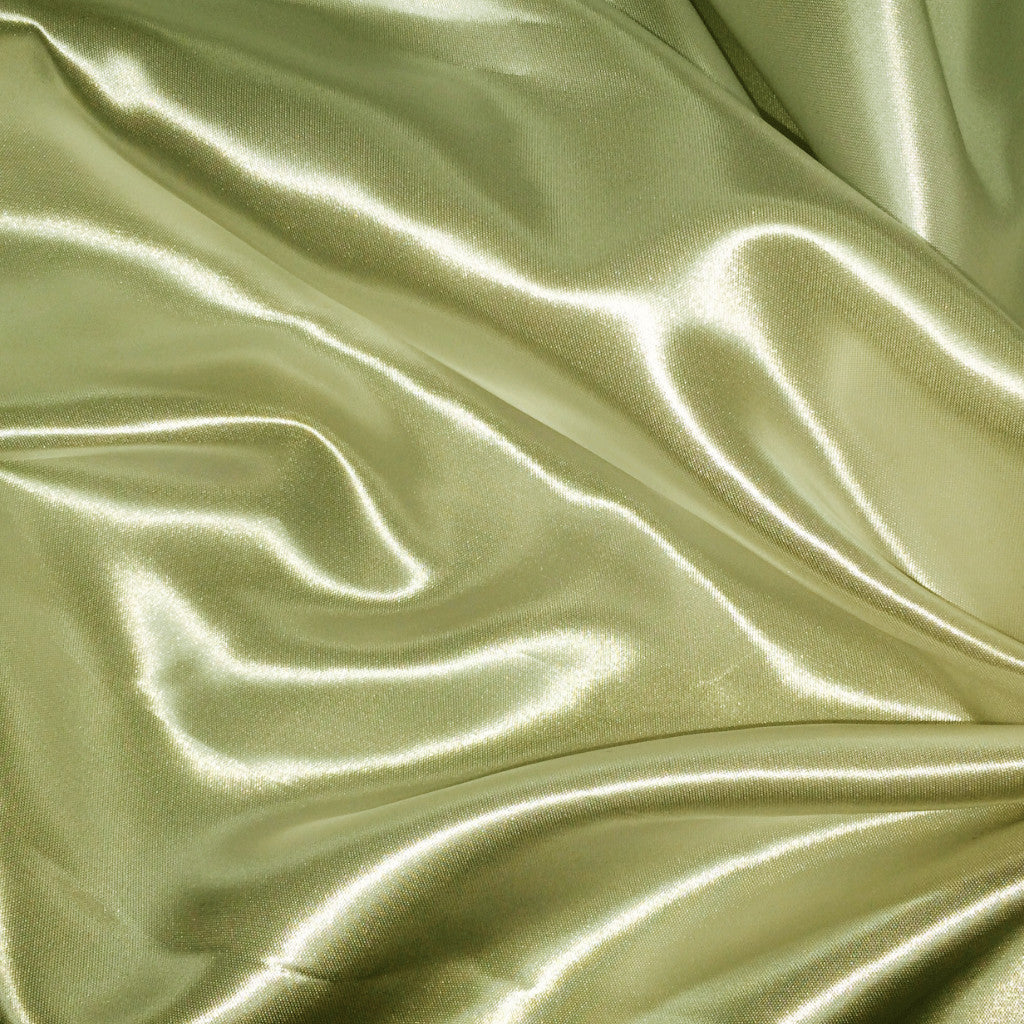 Luster Satin Fabric 23  Pistachio - NY Fashion Center Fabrics