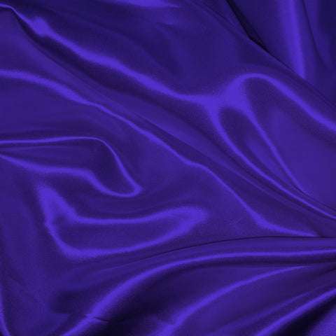 Luster Satin Fabric 41  Purple - NY Fashion Center Fabrics