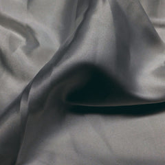 Charmeuse Satin Fabric 39  Dark Greay - NY Fashion Center Fabrics