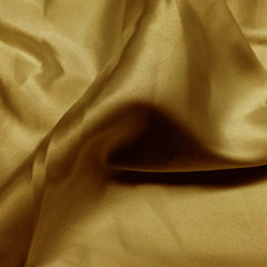 Charmeuse Satin Fabric 10  Bright Gold