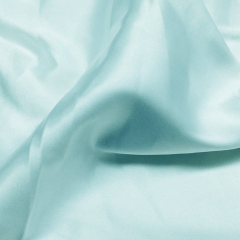 Charmeuse Satin Fabric 34  Aqua