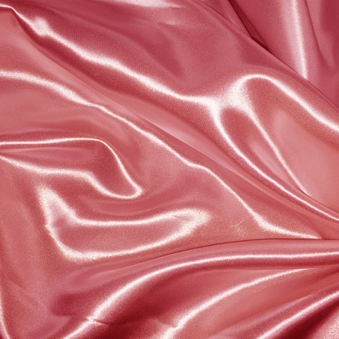 Luster Satin Fabric 16  Dusty Rose - NY Fashion Center Fabrics