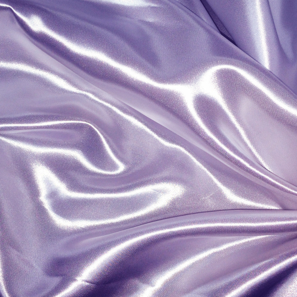 Luster Satin Fabric 31  Lilac - NY Fashion Center Fabrics