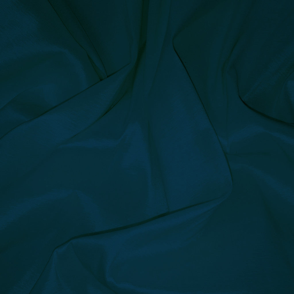 Stretch Taffeta 16  Teal Blue