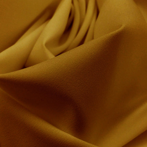 Pongee Lining Fabric 11  Bright Gold