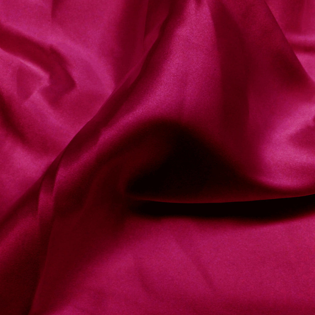 Charmeuse Satin Fabric 26  Fuchsia - NY Fashion Center Fabrics