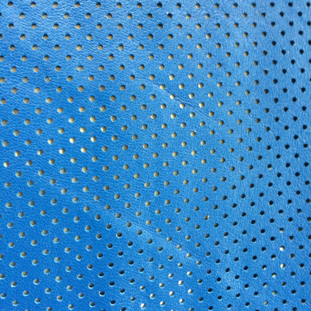 Perforated Lamb Leather Royal